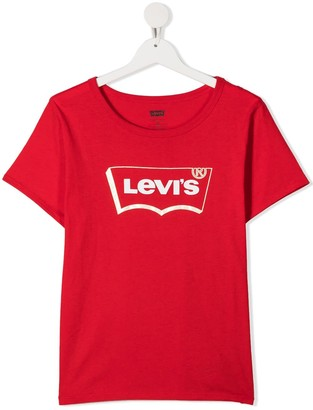 Levi's short sleeve logo print T-shirt