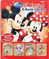 ToyCentre Disney LOOK AND FIND 4 Book Library MINNIE & MICKEY Hardback Books for Children Boys Girls Kids Gift