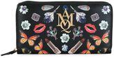 Alexander McQueen AMQ continental wallet
