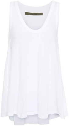 Enza Costa Pima Cotton-jersey Tank
