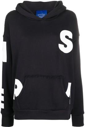 Simon Miller alphabet print hoodie