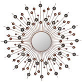 Mercury Row Zosma Circles Sunburnt Mirror