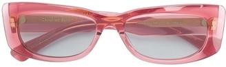 Christian Roth Square Frame Sunglasses