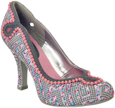 Ruby Shoo Gray & Pink Miley Pump
