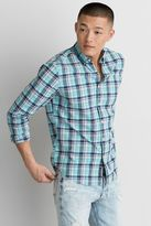American Eagle Outfitters AE Classic Plaid Button Down Shirt