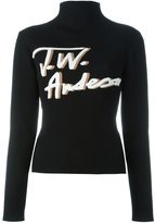 J.W.Anderson smoked mock neck jumper