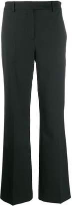 Calvin Klein plain slim-fit trousers