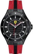 Ferrari 0830080 Scuderia SF103 Black Red Race Day Rubber Men Watch NEW