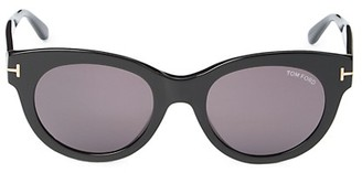 Tom Ford 53MM Cat Eye Sunglasses