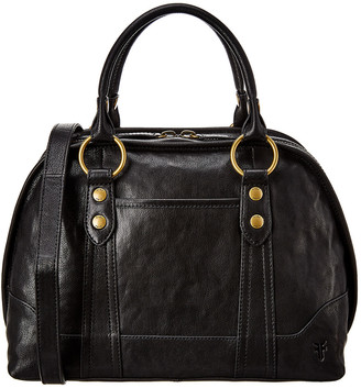 Frye Lucy Domed Leather Satchel