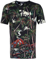 Dolce & Gabbana jungle volcano print T-shirt