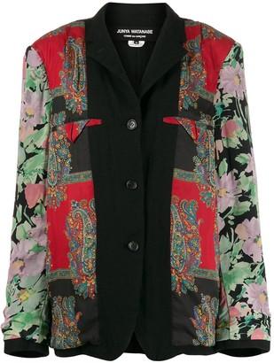 Junya Watanabe Floral And Paisley Jacket