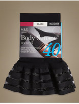 M&S Collection 40 Denier Body SensorTM Opaque Hold-Ups