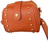 D.jiani® Shoulder Diagonal Handbags Korean Wild Rivet Small Bag Ladies Bag Packet