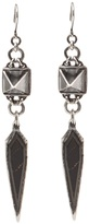 Emanuele Bicocchi Pyramid spike chandelier earring
