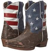 Roper American Flag Shorty Cowboy Boots
