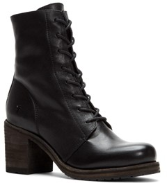 Frye Karen Lug Sole Combat Boots Women's Shoes