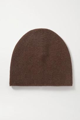 Totême Cashmere Beanie - Dark brown