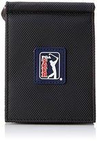 PGA TOUR Men's Silicone Front Pocket Wallet Swinger Logo