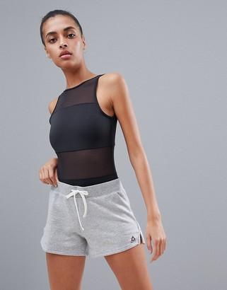 Reebok Grey Jersey Shorts
