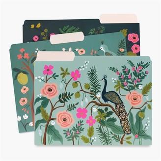Rifle Paper Co. File Folders Shanghai Garden Set of 6