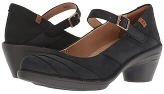 El Naturalista Aqua N5327 (Black/Black) Women's Shoes