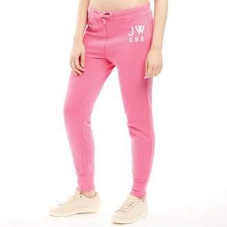 Jack Wills Womens Chatterton Garment Dye Sweat Pants Pink