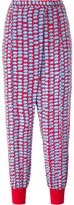 Stella McCartney dotted tapered trousers - women - Silk/Cotton - 38