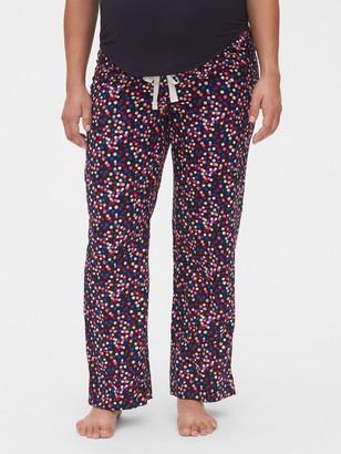 Gap Maternity Full Panel Flannel Pajama Pants