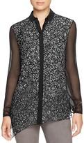 Elie Tahari Icona Asymmetric Floral Silk Blouse - 100% Bloomingdale's Exclusive