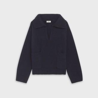 Cashmere Collared Sweater