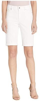 Lauren Ralph Lauren Rolled-Cuff Denim Bermuda Shorts