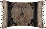 "J Queen New York Bradshaw Black 20"" x 15"" Decorative Pillow"