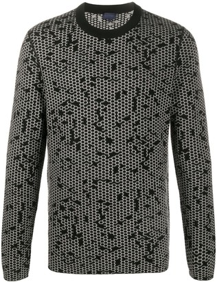 Lanvin Geometric Pattern Jumper