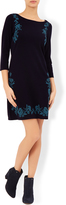 Monsoon Eliana Embroidered Knitted Dress