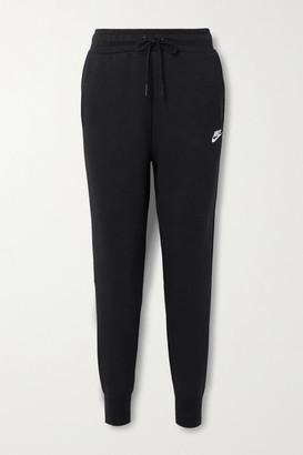 Nike Cotton-blend Track Pants - Black