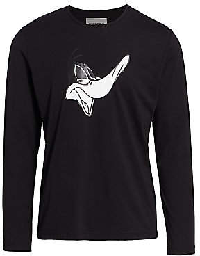 Iceberg Men's Regular-Fit Daffy Duck Graphic T-Shirt