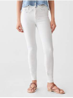 DL1961 Florence Ankle Mid Rise Skinny | Milk