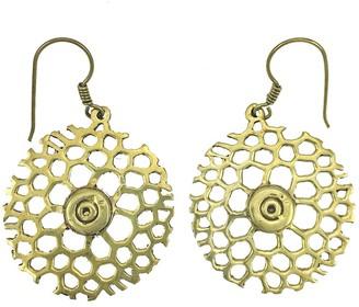 Slate & Salt Honeycomb Bomb Earrings