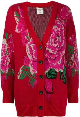Semi-Couture Semicouture floral print cardigan