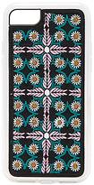Zero Gravity Traveler Embroidered iPhone 6/7 Case in Pink.