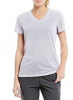 Under Armour Training Threadborne Point Short Sleeve V-Neck Tee