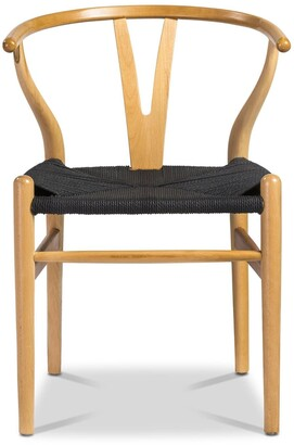 Apt2B Sylmar Side Chair NATURAL/CHOICE OF SEAT COLOR - SET OF 2