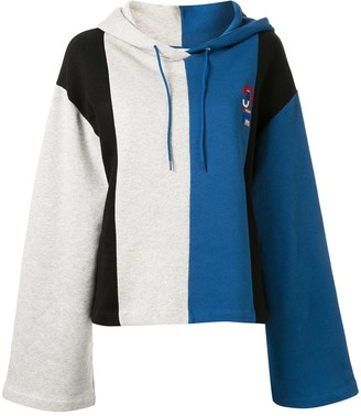 Être Cécile Colour-Blocked Logo Hoodie