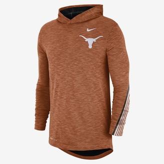 Nike Men's Long-Sleeve Hooded T-Shirt College (Texas)