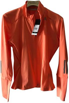adidas Orange Synthetic Jackets