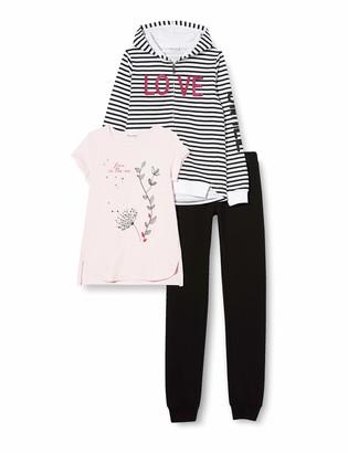 Brums Girl's Tuta 3pz:top E Pant. Felpina +t-Shirt Tracksuit