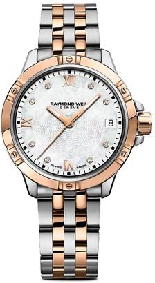 Raymond Weil Tango Diamond Mother-Of-Pearl Stainless Steel Bracelet Watch
