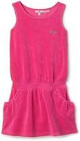 Girls' Terry Dress - Sizes 7-14