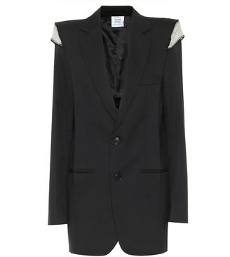 Vetements Oversized wool blazer
